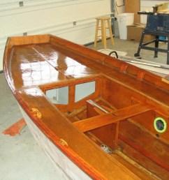 mirror dinghy restoration [ 1024 x 768 Pixel ]