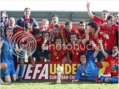 Los Sub-17 siguen ilusionandonos y ganando t�tulos, ya somos CAMPEONES DE EUROPA.