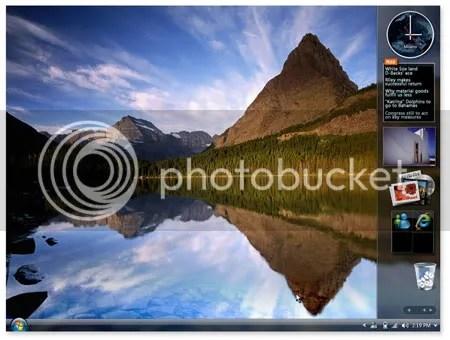 Imagen de Windows Vista en pleno funcionamiento.