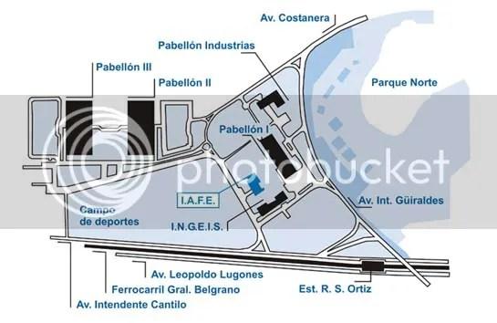 Mapa de Ciudad Universitaria