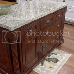 Kitchen Island Outlet Lowes Cabinets Sale Anyone Have A Good Idea How To Hide Electrical In