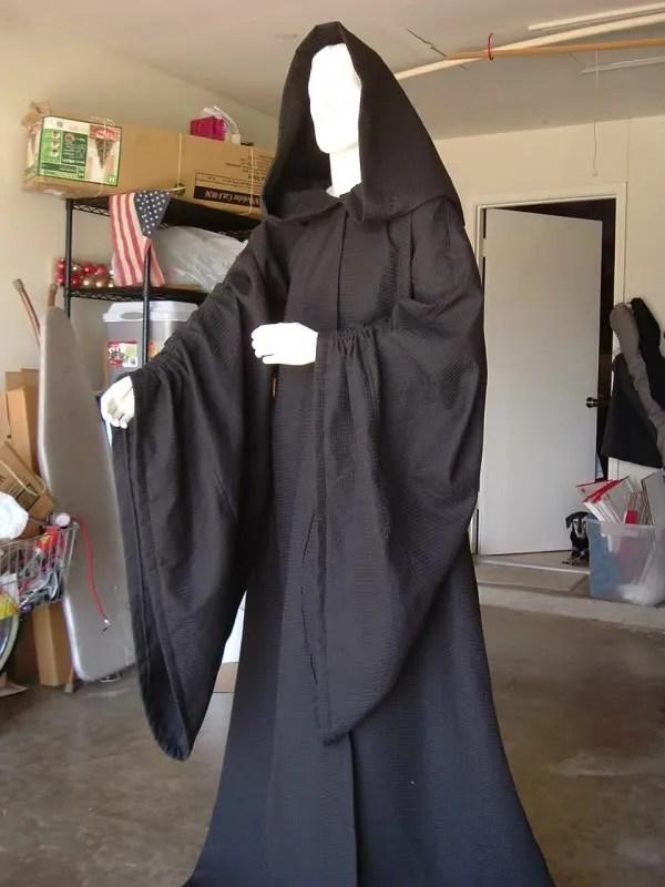 My ROTJ Palpatine Robe now official Palpatine progress