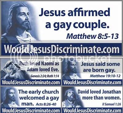 would jesus discriminate, indeed?