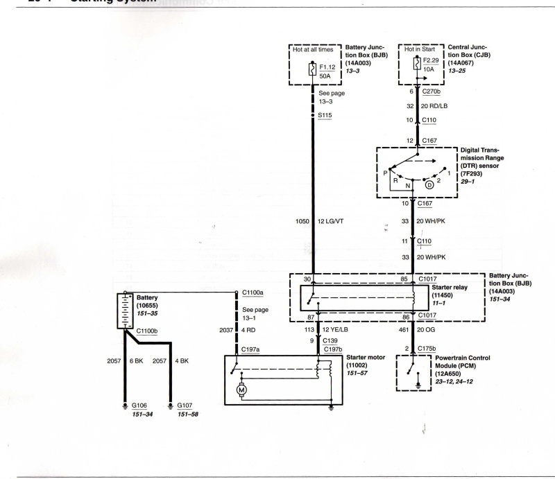 2004 ford explorer starter wiring diagram gluteus muscles pain circuit sumpthin ain t right and img