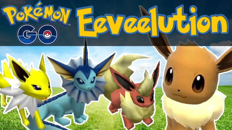 Pokemon Go: Eevee Evoluzione, pokemon go Eevee, eevee, Flareon, Vaporeon, Jolteon, evoluzione eevee, eevee evoluzioni, Rainer,  Sparky, Pyro,pokemon go guida, Pokemon Go: Eevee Evoluzione