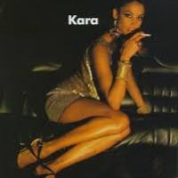 1990's, Kara Young Stunned In Gold, In her heyday in the late '80s and '90s, Kara Young was one of the most desirable models in the world
