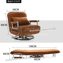 Foldable Sofa Chair Malaysia Used Massage Chairs For Sale New Multipurpose Folding Single Spinning Couch Bed | 11street ...