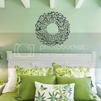 3D Islamic Muslim Arabic Calligraphy Wall Sticker Art ...