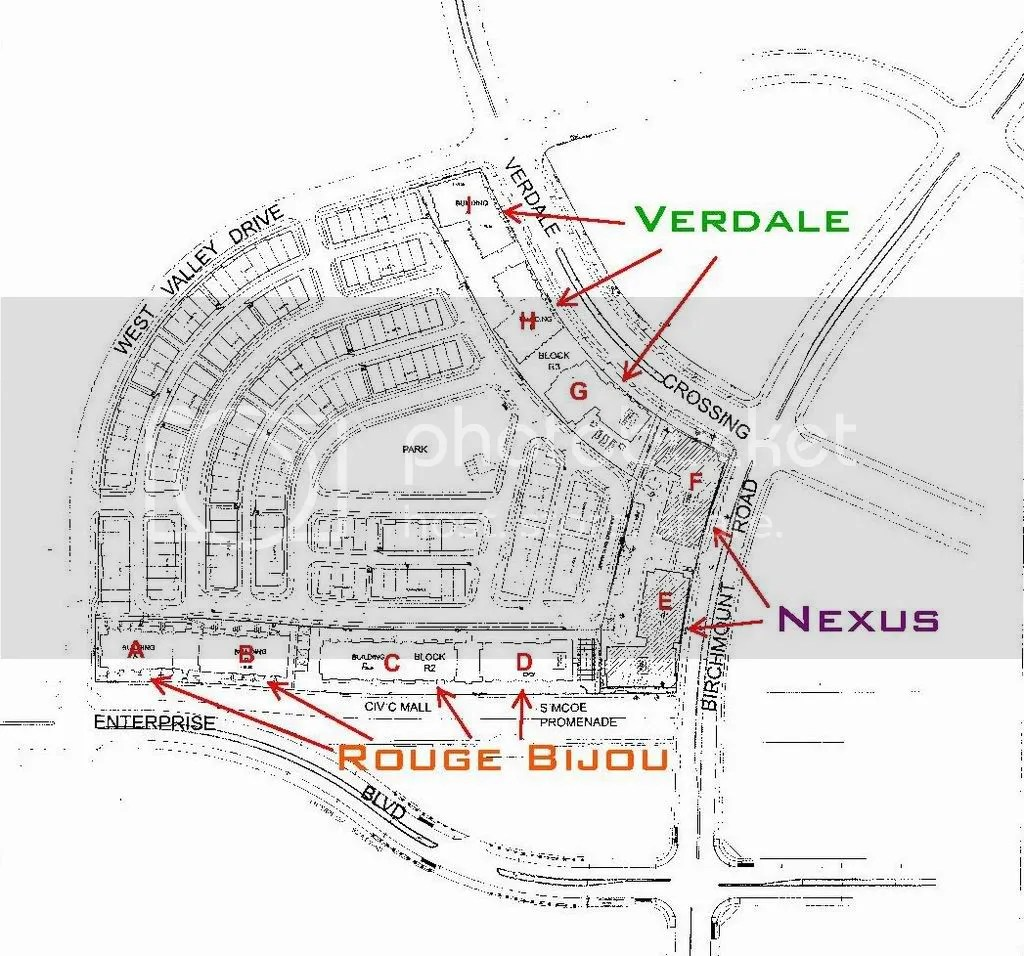 Nexus (Downtown Markham, Remington, 14 + 10s, Quadrangle