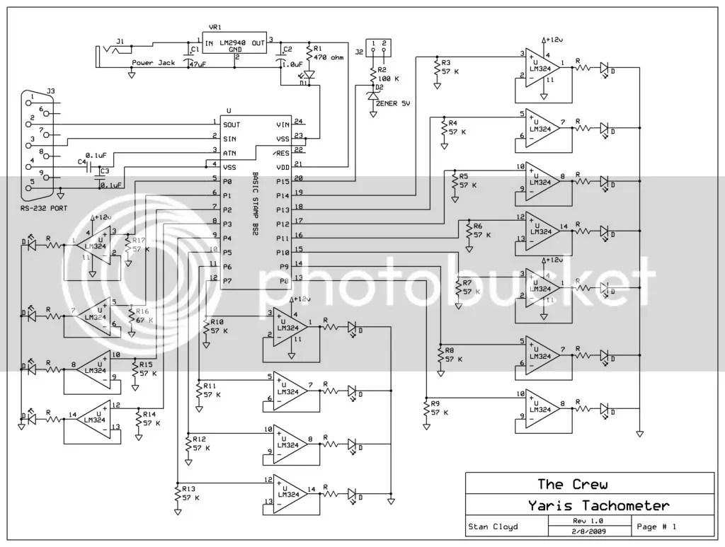 Source Code For Yaris Tachometer
