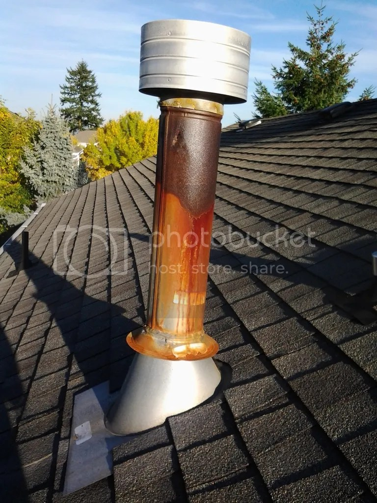 Gas Furnace Roof Vent Replacement