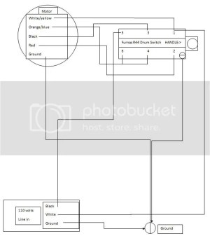 9A motordrum switch wiring help
