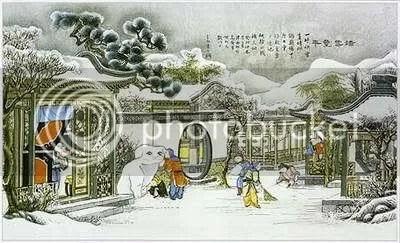 รุ่ยเสี่ยว์เฟิงเหนียน ว่ากันว่า ตรุษจีนปีไหนหิมะตก ผลผลิตจะภ??ดมสมบูรณ์ดี