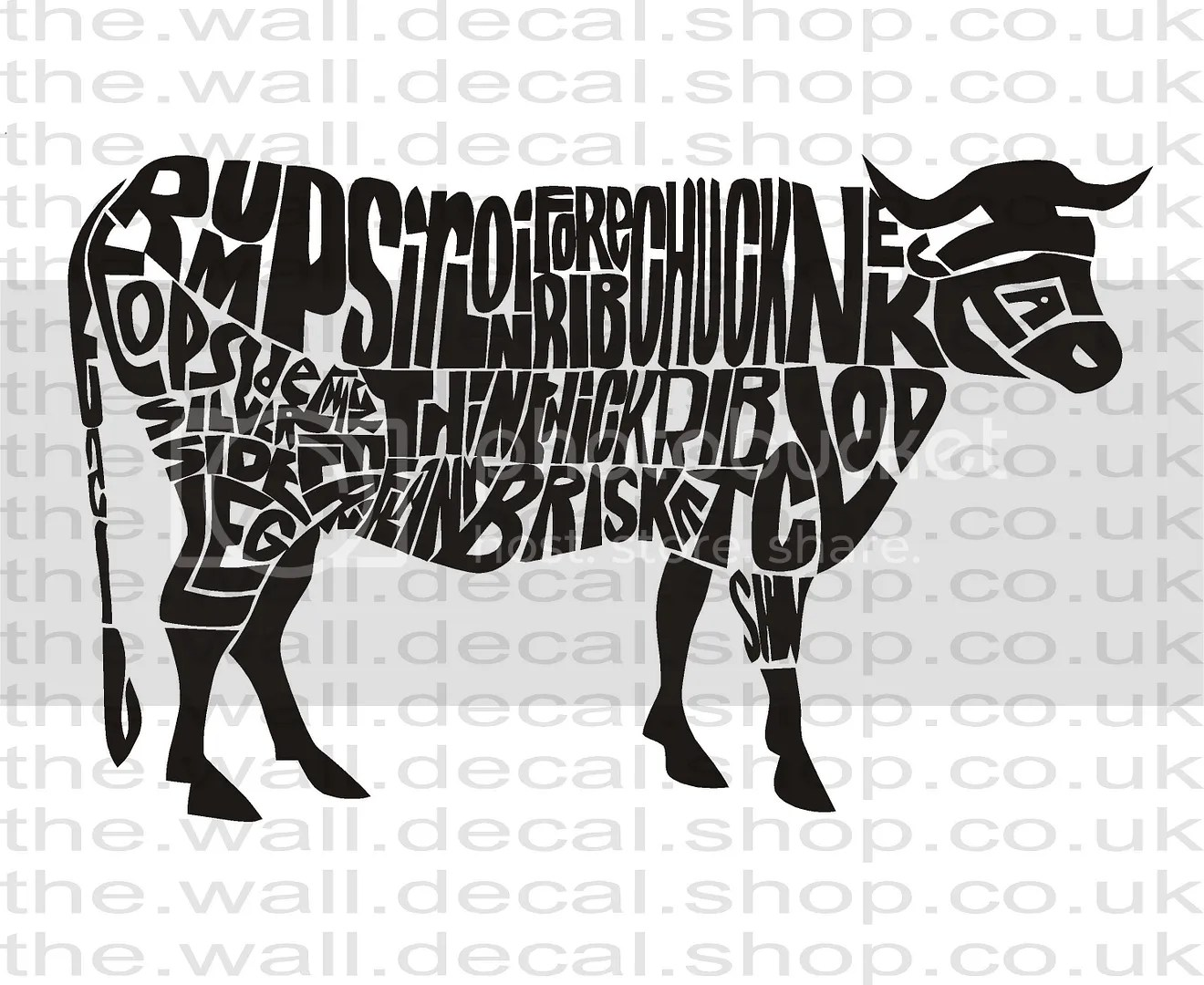 Butchers Cow