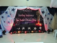 For Hire: Stage decorations for your xmas party