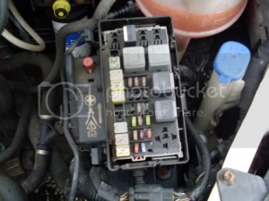 Ford Transit Forum • View topic  MK 7) Fuse Details Fuse Box Location