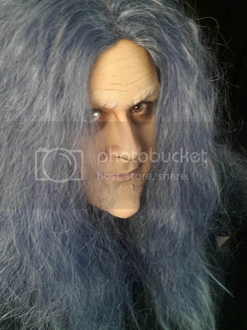Geisha Wigs Review Amp Makeup Up Look Grey Witch The