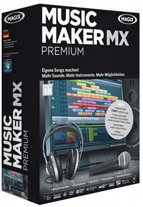 MAGIX Music Maker MX Premium 18.0.3 & Addons