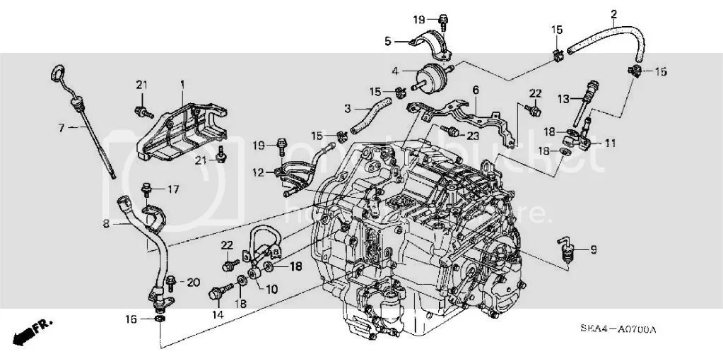 Acura Tsx 2005 Engine Diagram Transmission Fluid. Acura