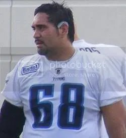 Kevin Mawae may be best remembered because of Chris Johnson. Photo by Andrew Strickert for Total Titans.