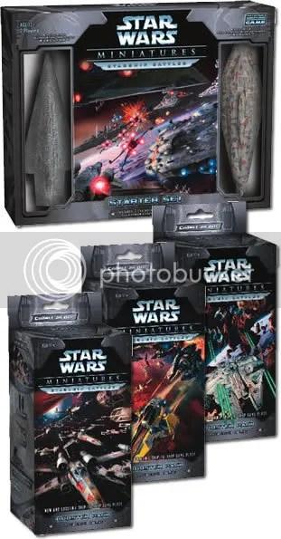 Star Wars Miniatures Starship Battles