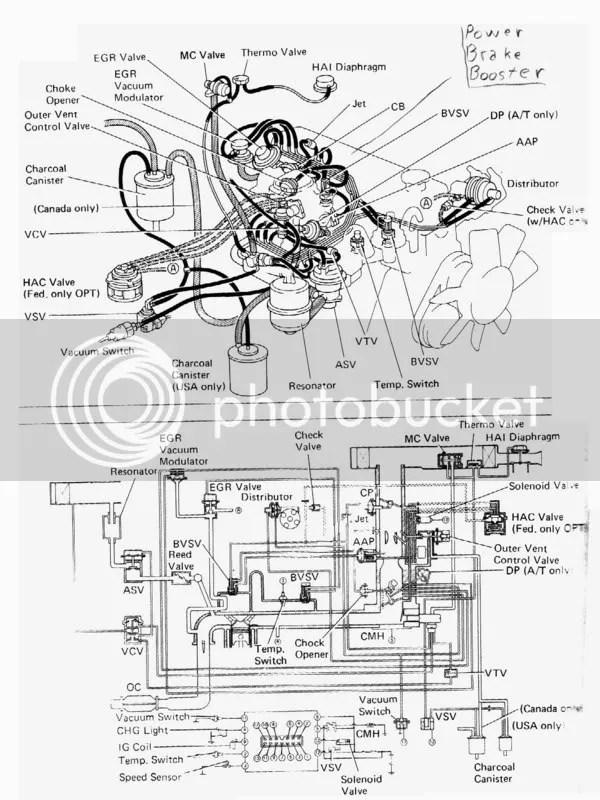 1990 Toyota celica vacuum diagram