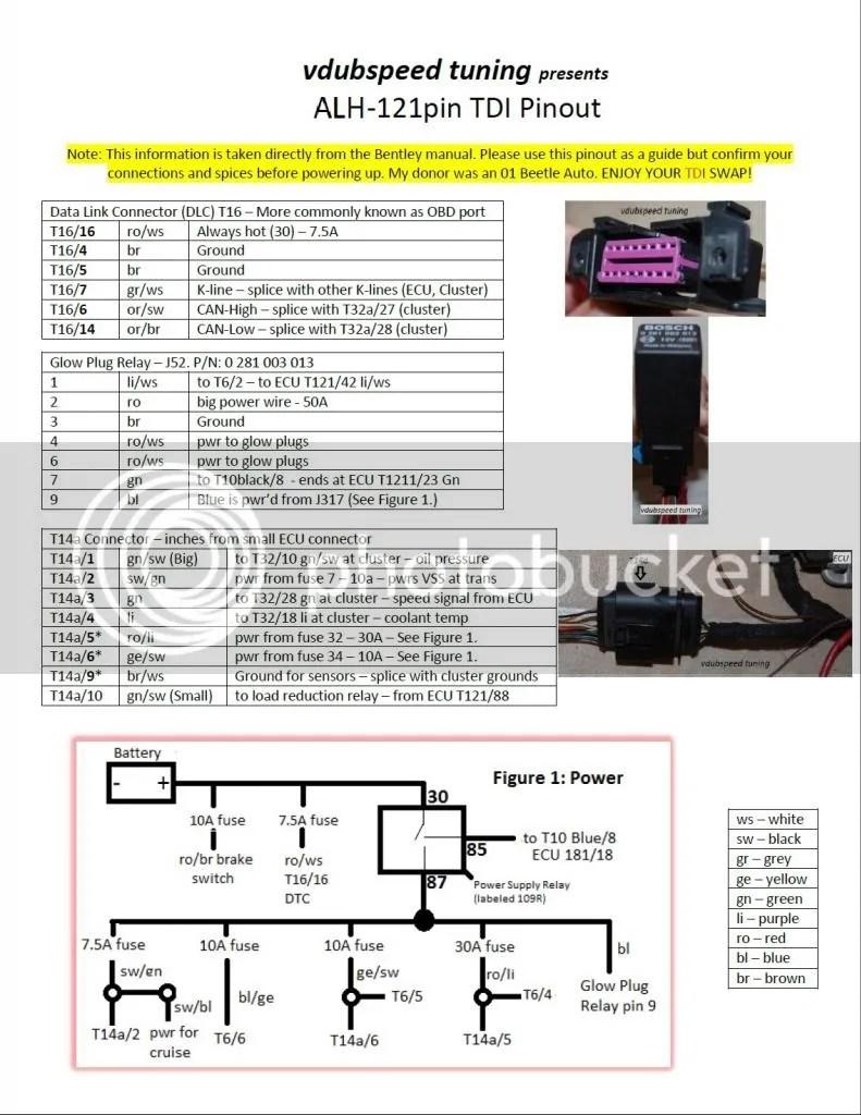 hight resolution of alh tdi pinout tdiclub forums rh forums tdiclub com 1965 vw beetle wiring diagram vw wiring