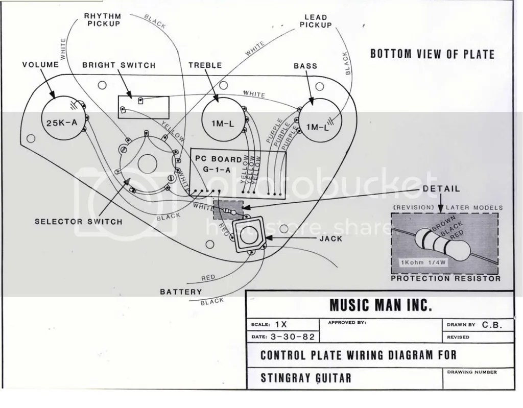 Musicman Stingray Wiring Diagram : 32 Wiring Diagram