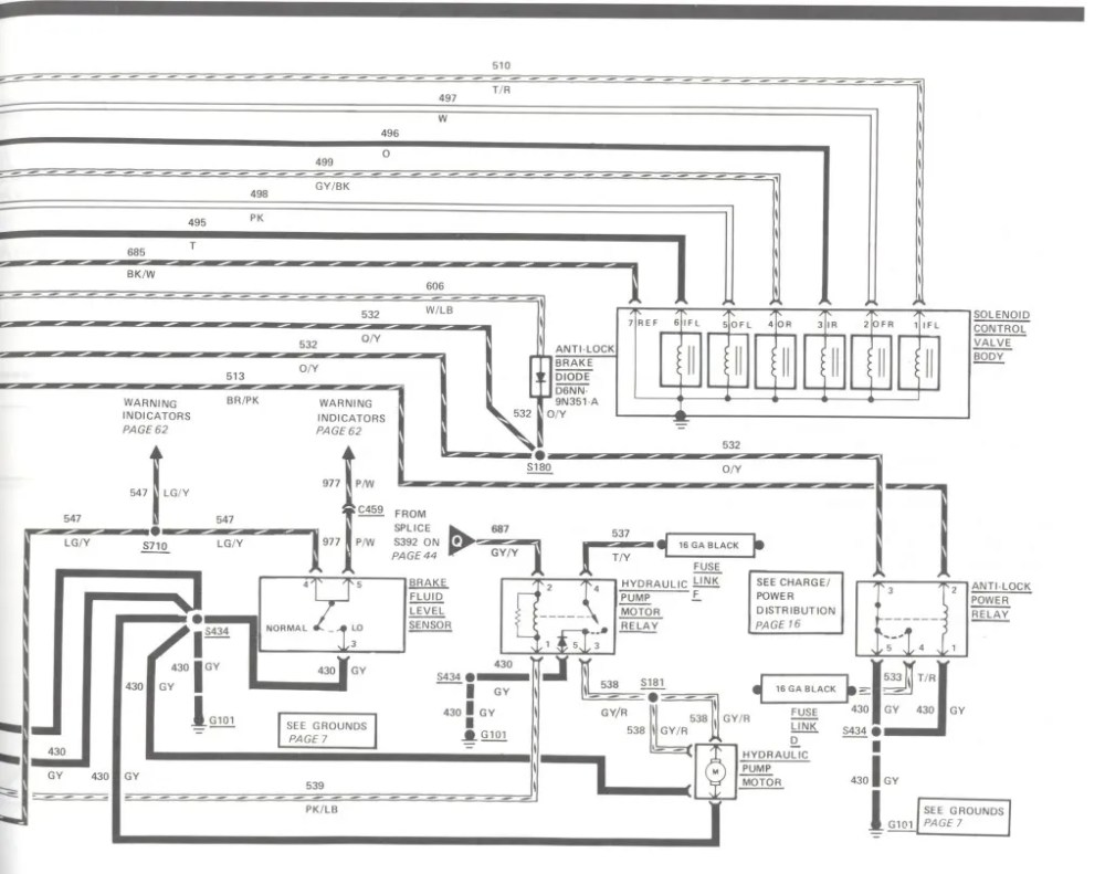 medium resolution of lincoln brakes diagram wiring librarythe lincoln mark vii club u2022 view topic video of