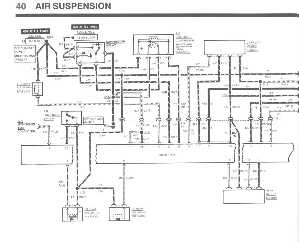 Air Ride System Schematic, Air, Free Engine Image For User