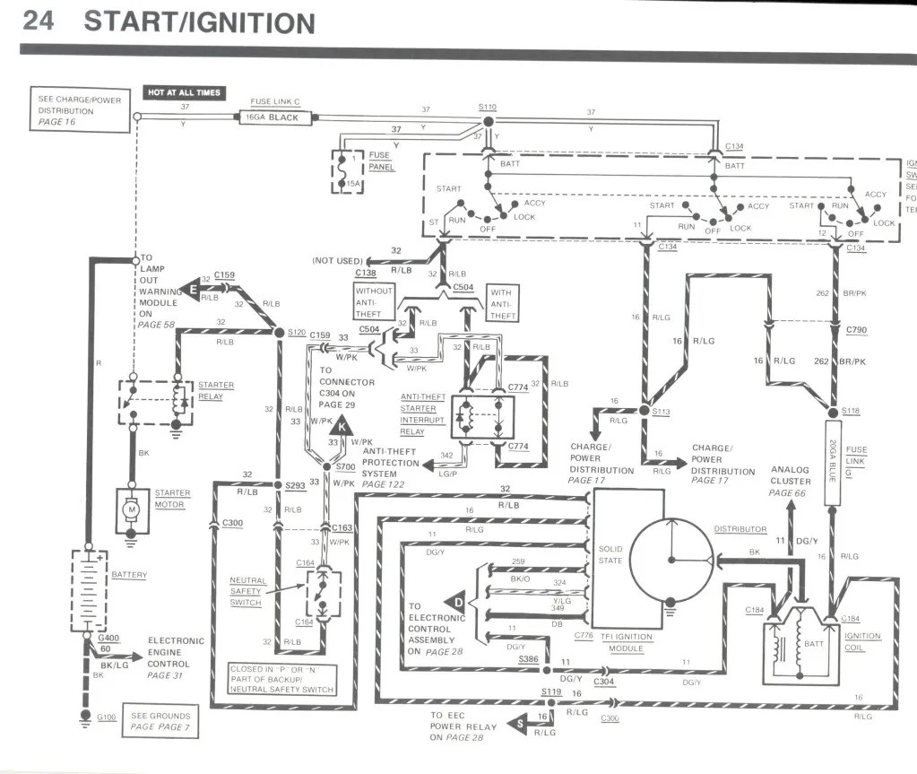 1988 Lincoln Mark 7 Wiring Diagram To Battery,Mark