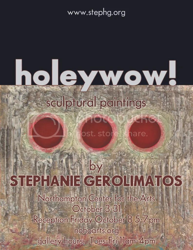stephg's art show flier