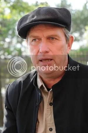 Raw milk farmer Michael Schmidt
