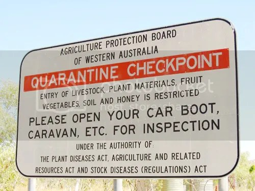 Will we be seeing signs like this across America in the years to come? Photo by Rose Atkinson via Pbase.com (picture is from Western Australia)