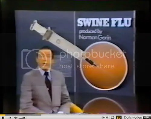 What did CBS reveal in 1979 about the side effects of the mass Swine Flu vaccination program that had been heavily promoted to the American public just three years earlier. Click image above to go to video.
