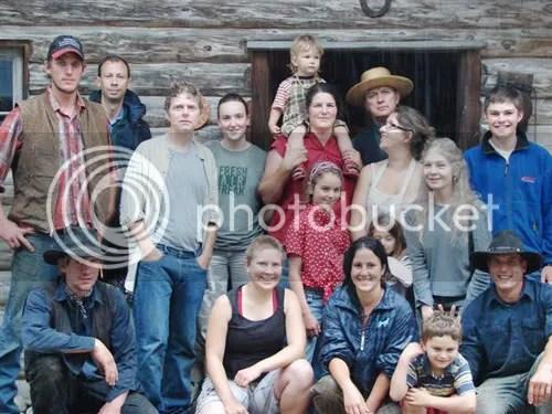 The crew at Glencolton farm