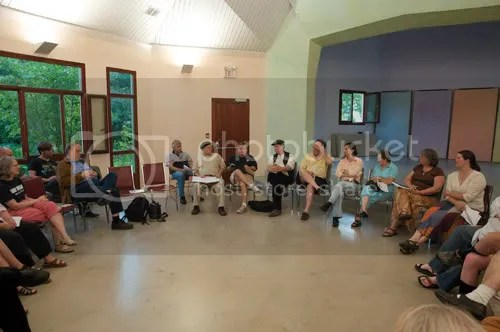 Cow share members meeting in August 2009