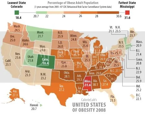 A geography of obesity in America.