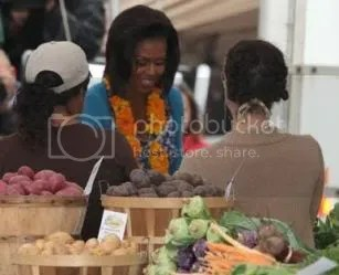 Will Michele Obama become the first lady of real food reform in America?