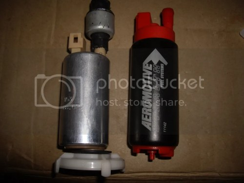 small resolution of i really didnt feel like using some sort of inline and was begining to suspect my stock intank was getting tired enter the aeromotive stealth pump