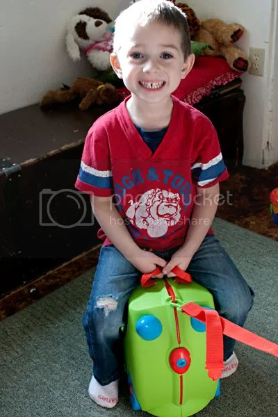 Trunki Kids Suitcase Giveaway