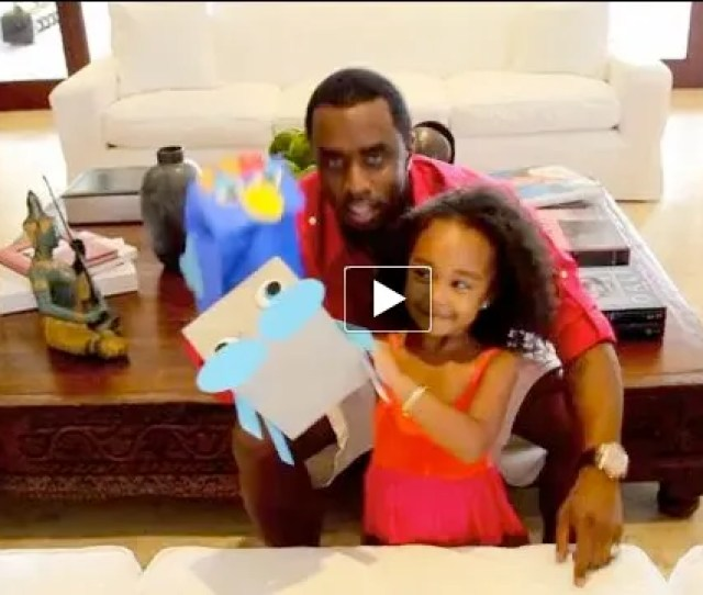 Diddy Introduces His Facebook Friends To His Daughter Chance Combs