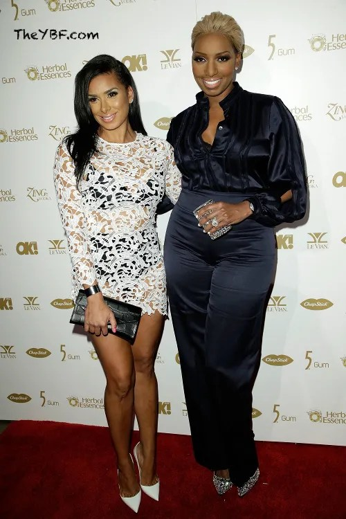 nene leaks and laura govan