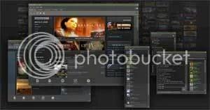 Steam platform dari Valve, pionir dalam distribusi digital.
