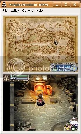 Screencap Rune Factory: A Fantasy Harvestmoon No$gba