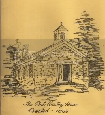 Pinto Meeting House sketch Pictures, Images and Photos