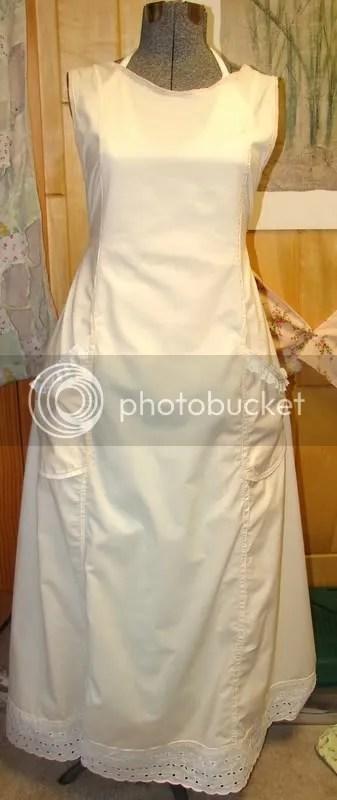 Edwardian apron-2nd place premium Cass Co. Fair