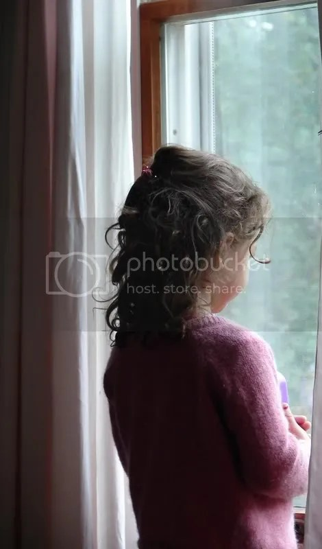 Grace at the window