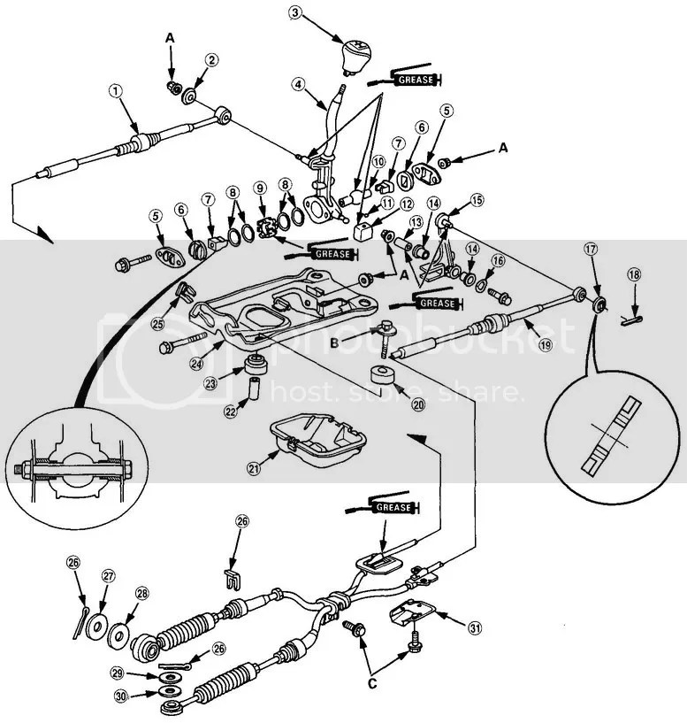 Service manual [How To Adjust Transmission Linkage 2002