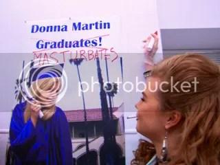 Donna Martin Masturbates...classic.